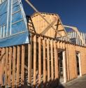 Hout-skelet-bouw